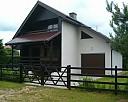 Luksusowy dom na Mazurach nad jeziorem Narie